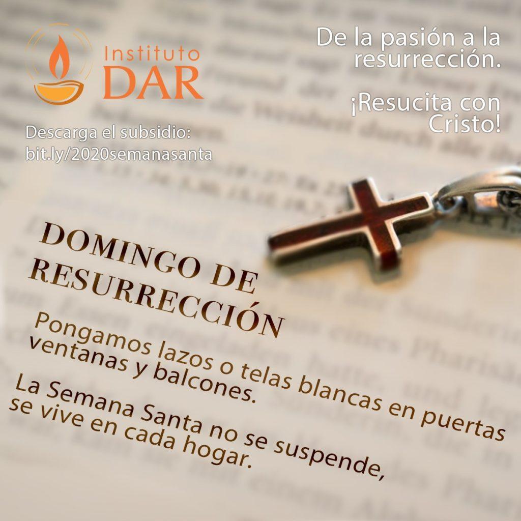 de la pasion a la resureccion domigo santo